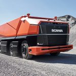 Scania presents AXL, a new cabless, fully autonomous concept truck